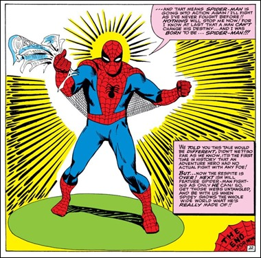 Spiderman de Ditko, inapreciable