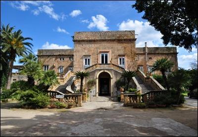 Villa Boscogrande, la hermosa casa que Visconti convirtió en el palacio de los Salina