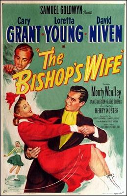 Cartel americano de La mujer del obispo