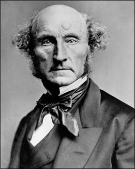 Fotografía de John Stuart Mill, hacia 1870
