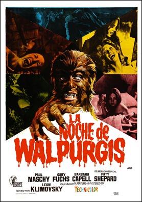 La noche de Walpurgis, el film de mayor éxito de Paul Naschy
