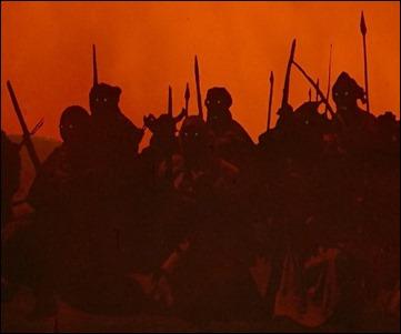 Los espectaculares cielos naranjas de la batalla de Helm