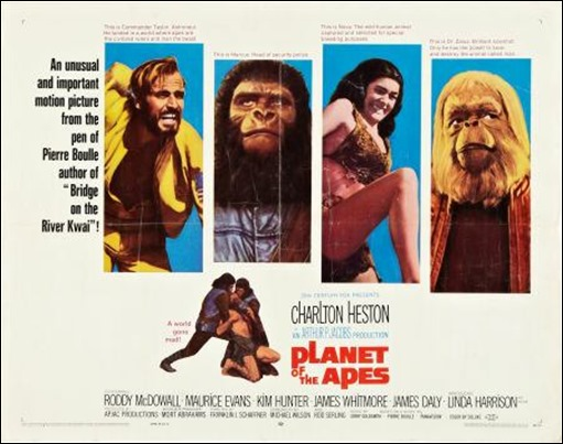 Poster de El planeta de los simios