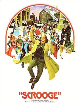 Poster original de Muchas gracias, Mr. Scrooge