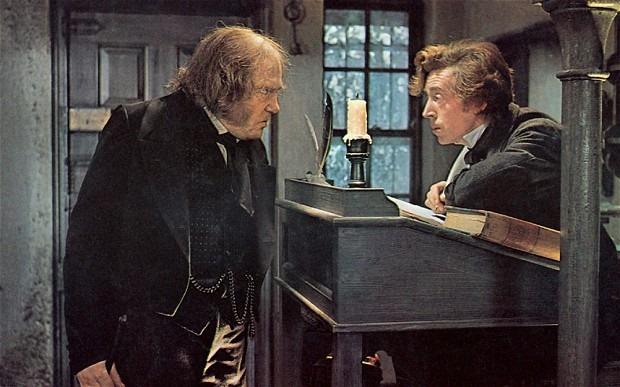Las enigmáticas pinturas de el Bosco (Misterio resuelto) Scrooge-y-su-empleado-bob-cratchit
