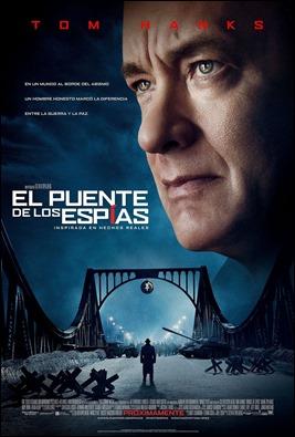 Tom Hanks reina en el cartel de El puente de los espías