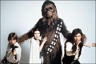 El casting original de La guerra de las galaxias