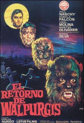 El retorno de Walpurgis, poster