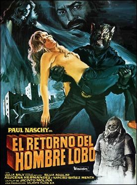El retorno del hombre lobo, poster