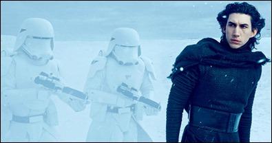 Kylo Ren, el nuevo Vader de Star Wars