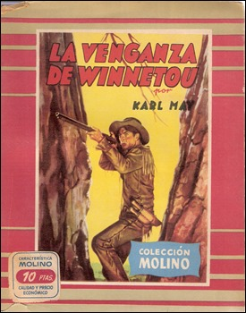 La venganza de Winnetou, en Editorial Molino