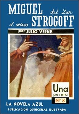 Miguel Strogoff en La Novela Azul, de Juventud