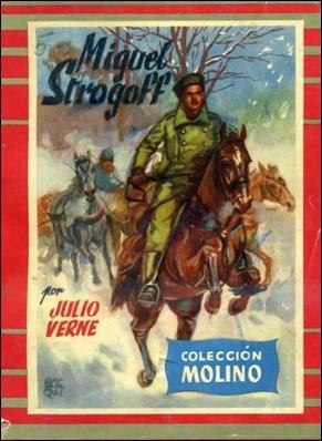 Portada de Miguel Strogoff, en Editorial Molino