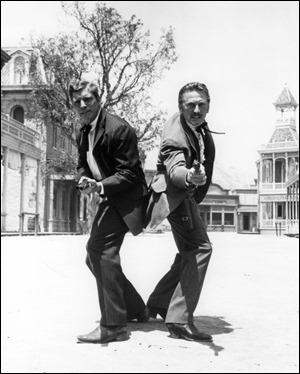 Wyatt Earp y Doc Holliday, Burt Lancaster y Kirk Douglas