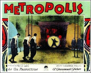 Afiche de Metrópolis