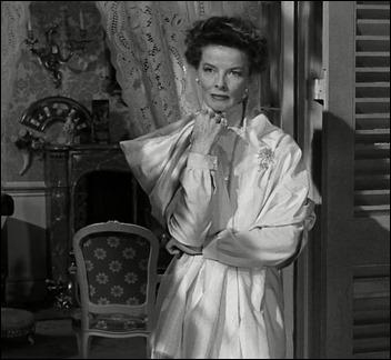 Katharine Hepburn como Violet Venable en De repente, el último verano