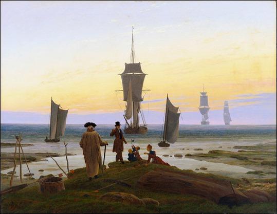 Las edades del hombre, de Caspar David Friedrich