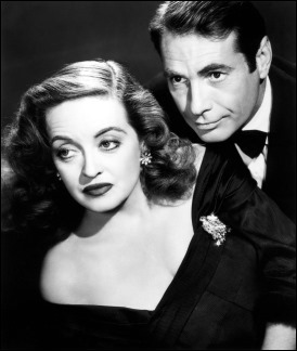 Margo Channing y su amado Bill Simpson, amantes también en la vida real Bette Davis y Gary Merrill