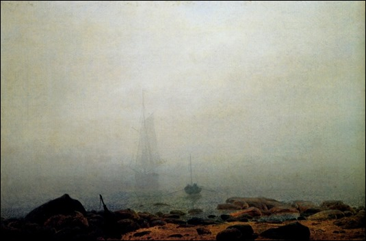 Niebla, de Caspar David Friedrich