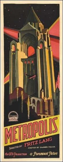 Otro cartel de Metrópolis