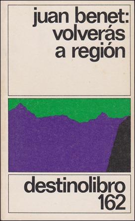Portada de Volverás a Región, de Juan Benet, en Destinolibro