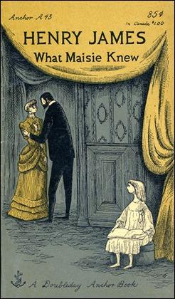 Edición inglesa de Lo que sabía Maisie, con inquietantes ilustraciones de Edward Gorey