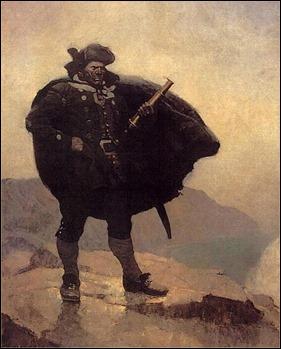 El capitán Billy Bones, por Wyeth