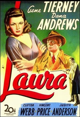 El estupendo poster de Laura, de Otto Preminger