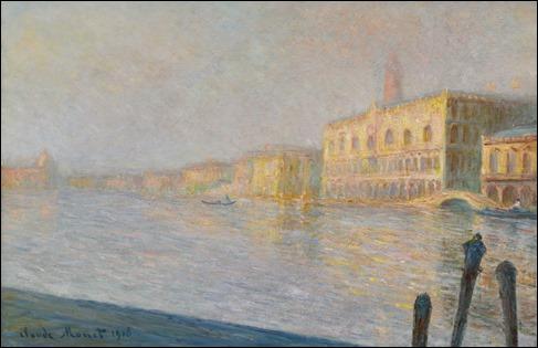 El Gran Canal de Venecia, por Monet