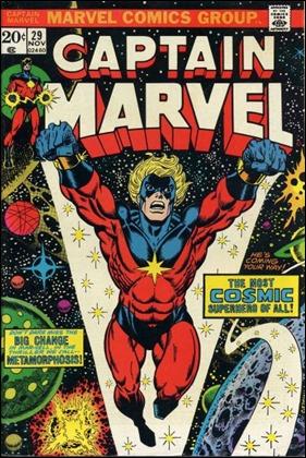 El número 29 de Captain Marvel, por Stalin y una jugosa colaboración de John Romita
