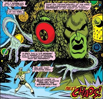 Eón, el ente que otorga la conciencia cósmica al Capitán Marvel