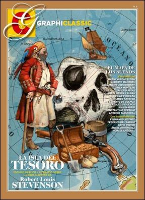 Excelente número de Graphiclassics dedicado a La isla del tesoro
