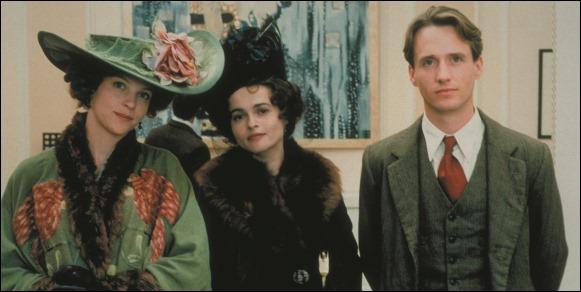 Los protagonistas de la versión cinematográfica de Las alas de la paloma