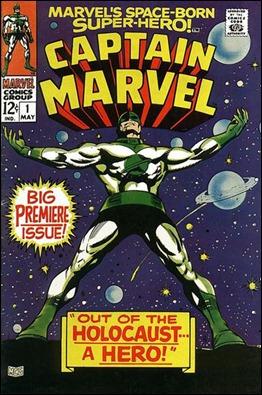 Número 1 de Captain Marvel, por Gene Colan