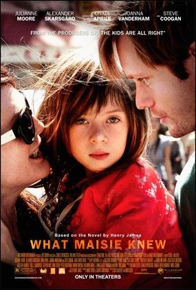 Poster español de Qué hacemos con Maisie