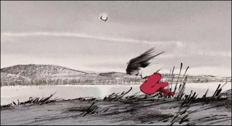 La loca huida bajo la luna de Kaguya