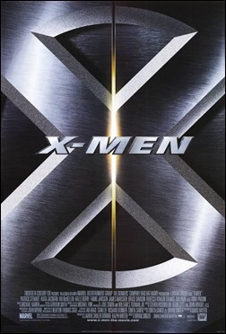 Minimalista poster del primer X-Men, de Bryan Singer