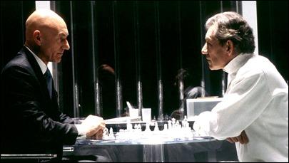 Patrick Stewart y Ian McKellen, Charles Xavier y Magneto
