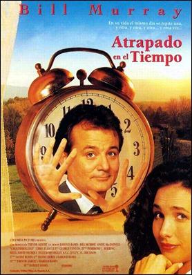 Poster español de Atrapado en el tiempo
