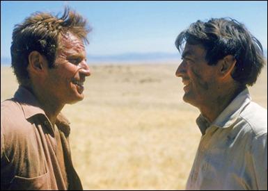 Charlton Heston contra Gregory Peck en Horizontes de grandeza