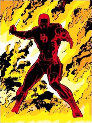 El regreso de Daredevil, la página final de 232