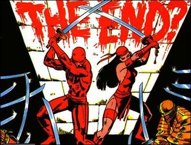 La fascinación de Frank Miller por Japón. Daredevil, Elekdtra y los ninjas