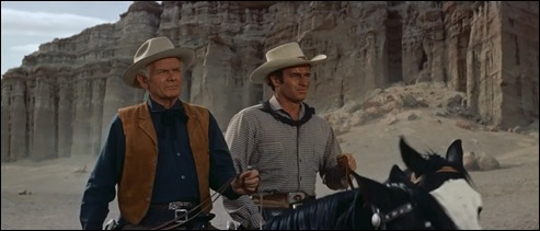 La mejor escena de Horizontes de grandeza, con Charlton Heston al frente
