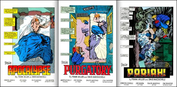 Las magníficas viñetas de créditos que muestran el progresivo hundimiento de Matt Murdock