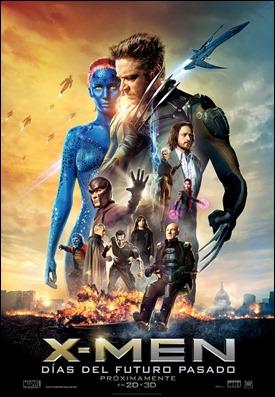 Poster de X-Men días del futuro pasado