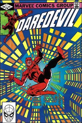 Una de las magníficas portadas de Frank Miller para Daredevil