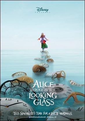 Buen anuncio de Alicia a través del espejo, película de 2016