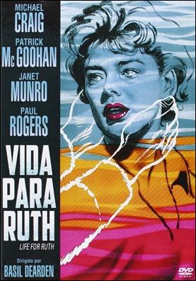 Cartel de Vida para Ruth aprovechado para la carátula del dvd español de la película
