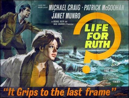 Cartel inglés de Vida para Ruth