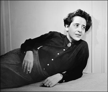 Fotografía de la real Hannah Arendt